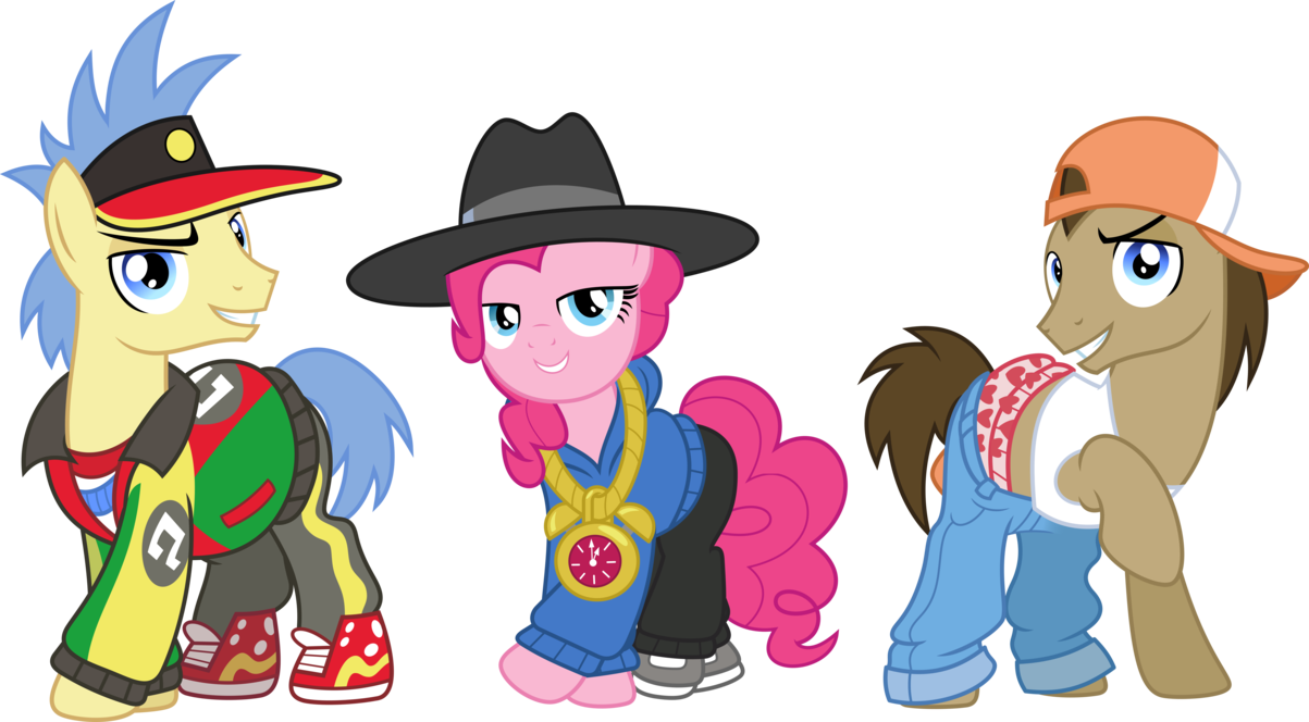 Rapper vector song. Ponies by chainchomp on