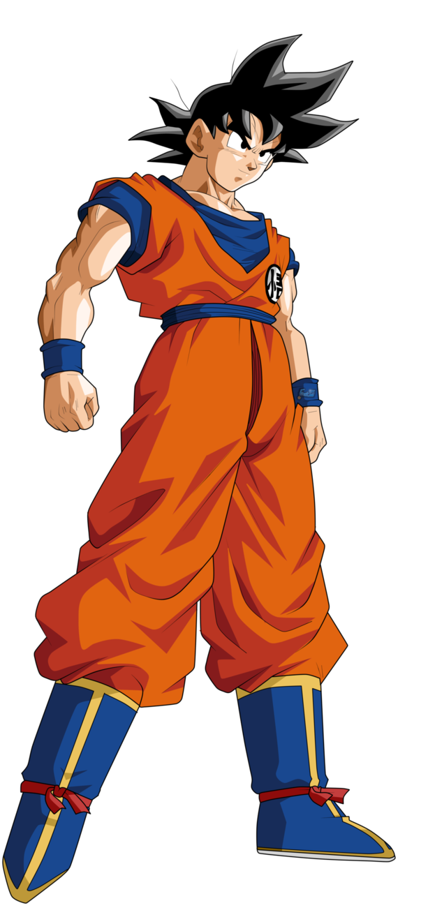 Rappers drawing dbz. Son goku by frost