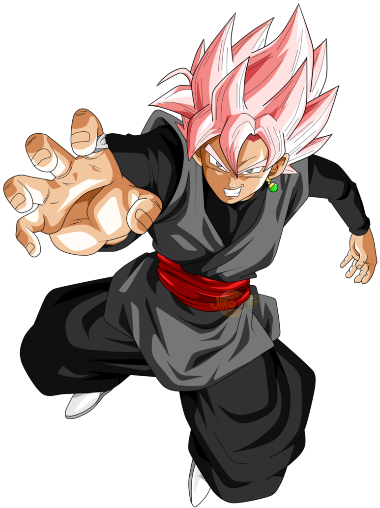 Rappers drawing dbz. Goku black ssj rose