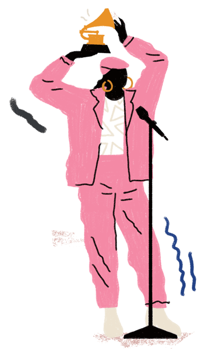 Rappers drawing fire. The grammys never get