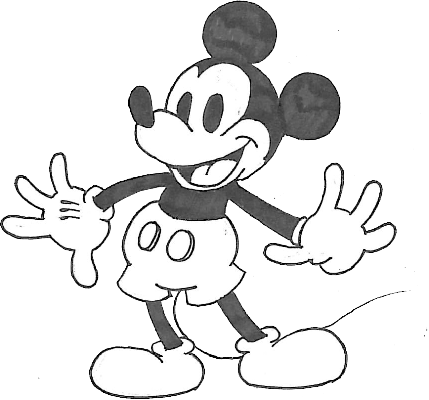 Drawing toons mickey mouse. Gangsta at getdrawings com