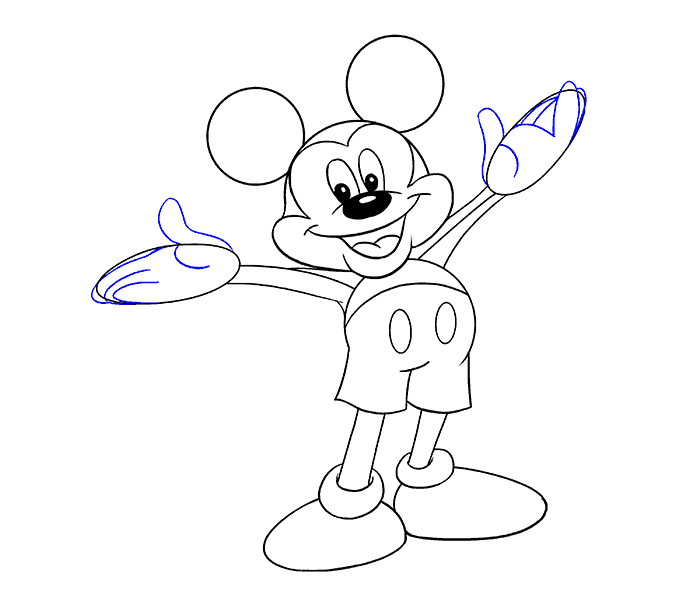 Rappers drawing mickey mouse. Line at getdrawings com