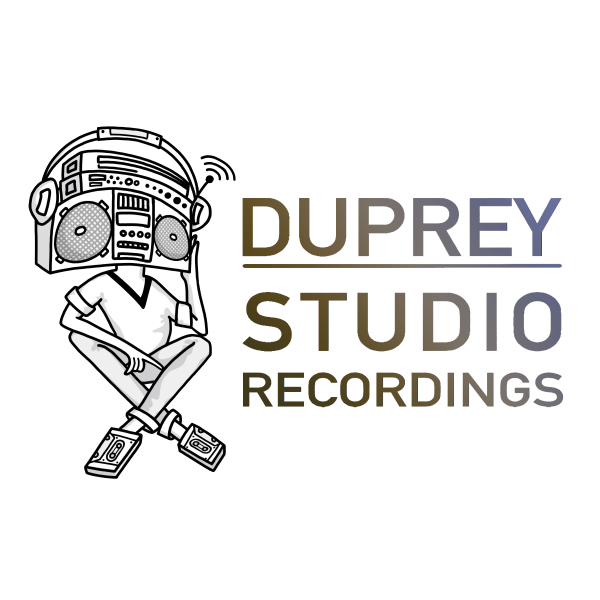 Dallas drawing pop art. Recording studio duprey recordings
