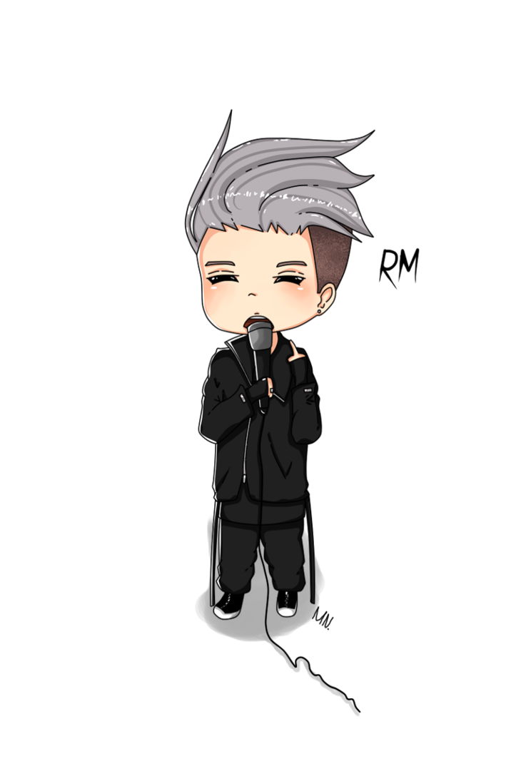 Rappers drawing rapper. Rap monster do you
