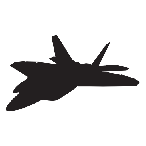 Raptor silhouette png. F fighter aircraft transparent