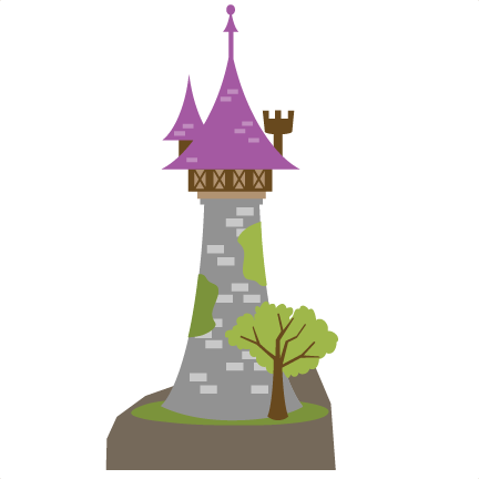 Tower clipart tangled tower. Princess castle svg file