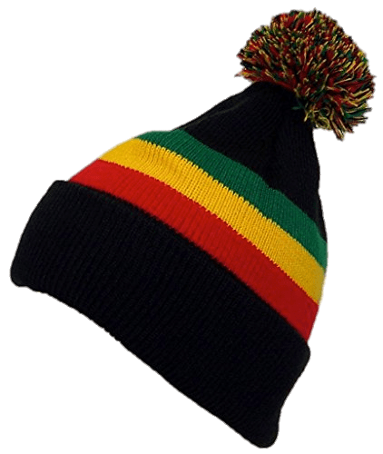 Winter transparent stickpng download. Rasta hat with dreads png stock