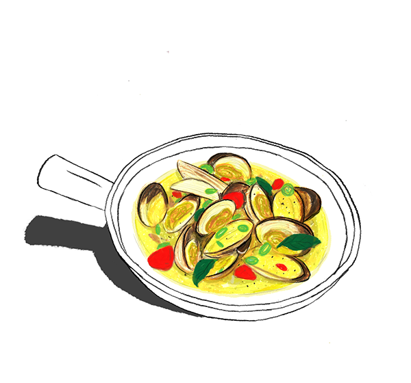 Ratatouille drawing culinary. Food illustration on student