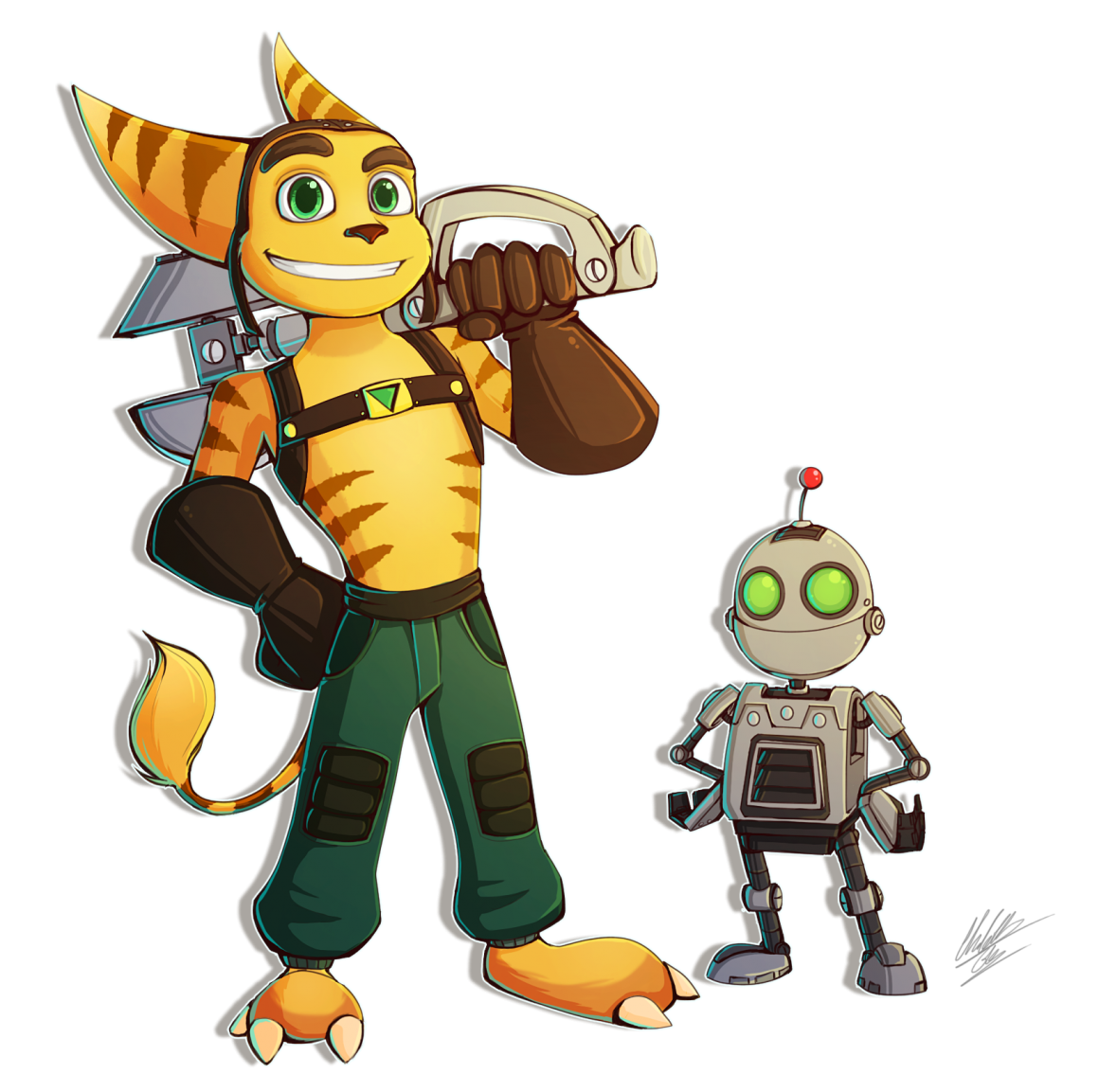 ratchet drawing clank