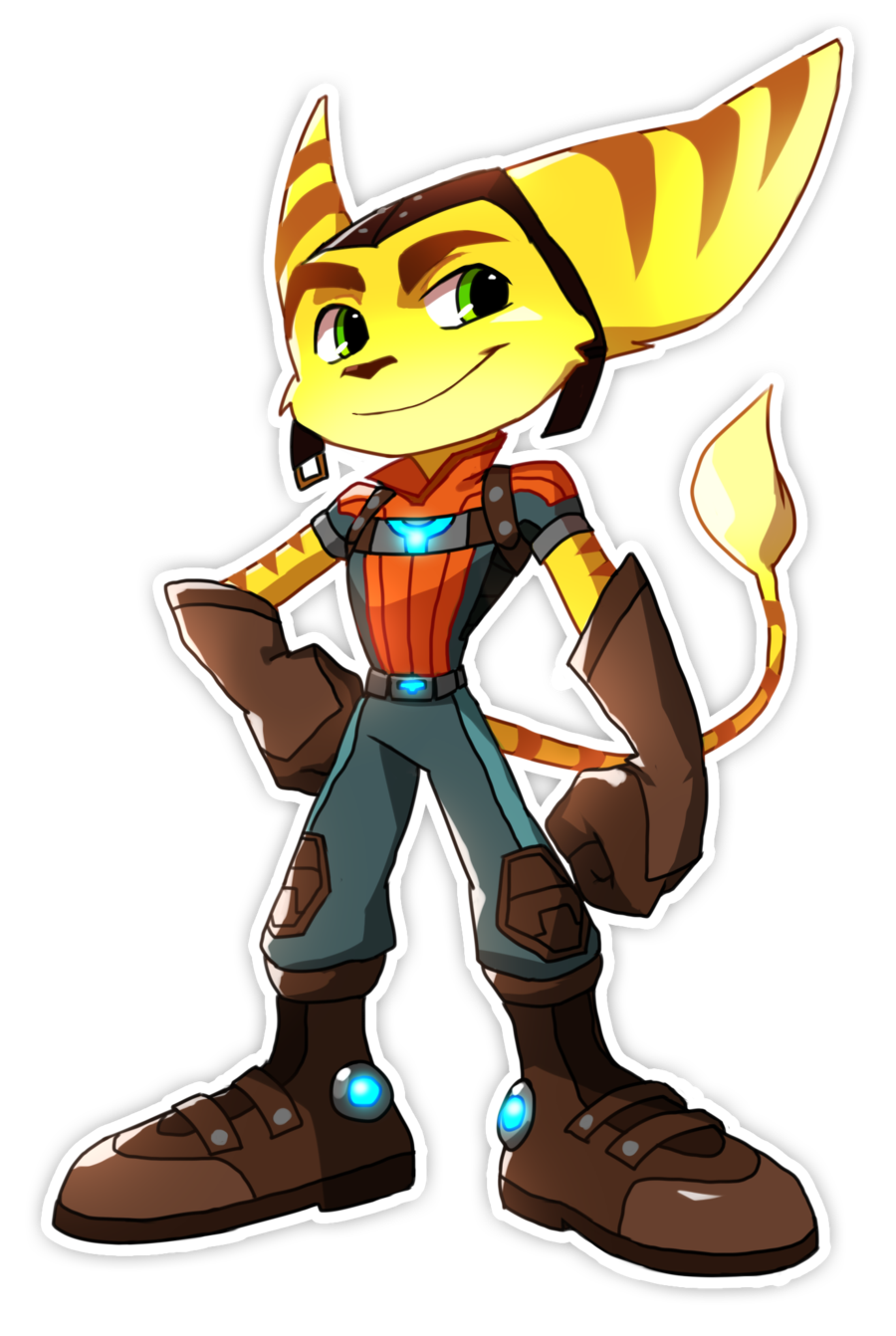 By bloomth on deviantart. Ratchet drawing picture download