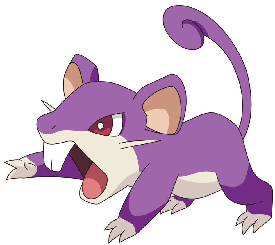 Rattata transparent female. By tzblacktd on
