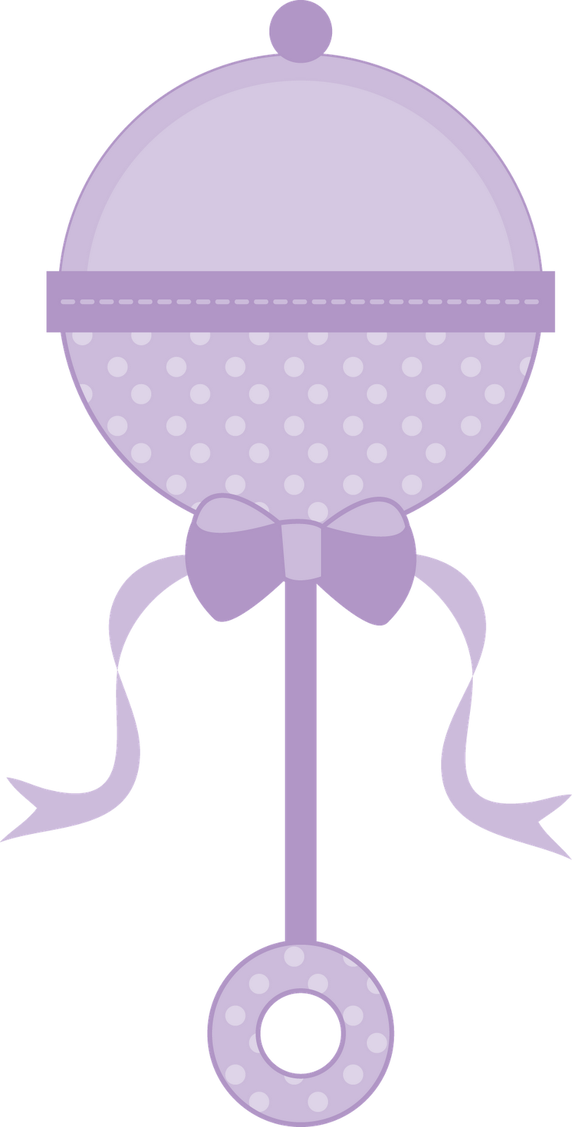 Rattle clipart drawing baby. Purple