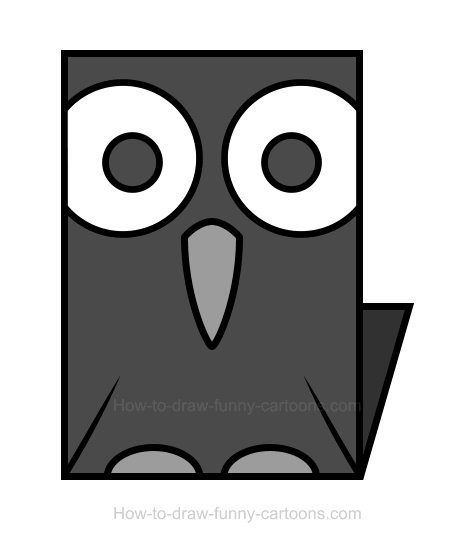 Raven clipart. Png how to draw