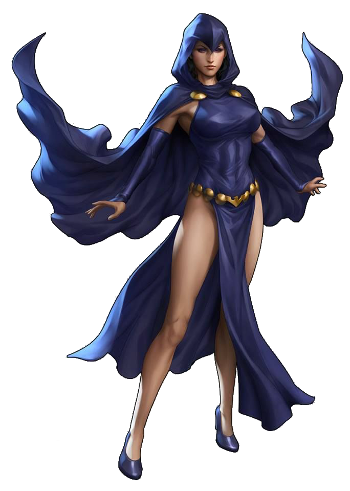 Raven dc png. Comics character profile wikia