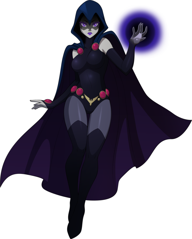 Raven dc png. By sparks stars on