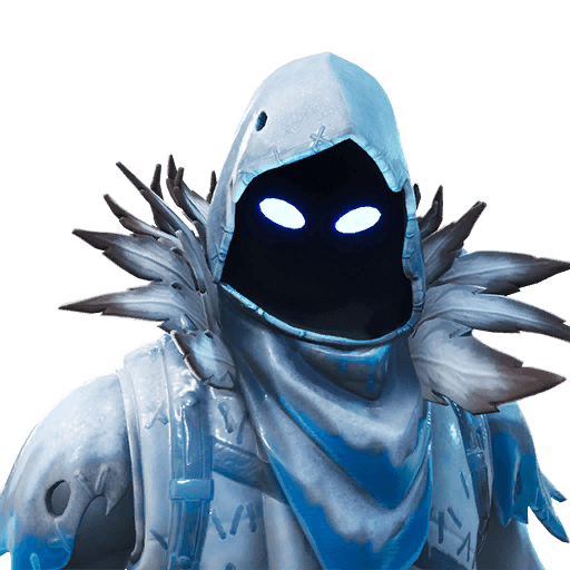 Raven skin fortnite png. Frozen tracker outfit icon