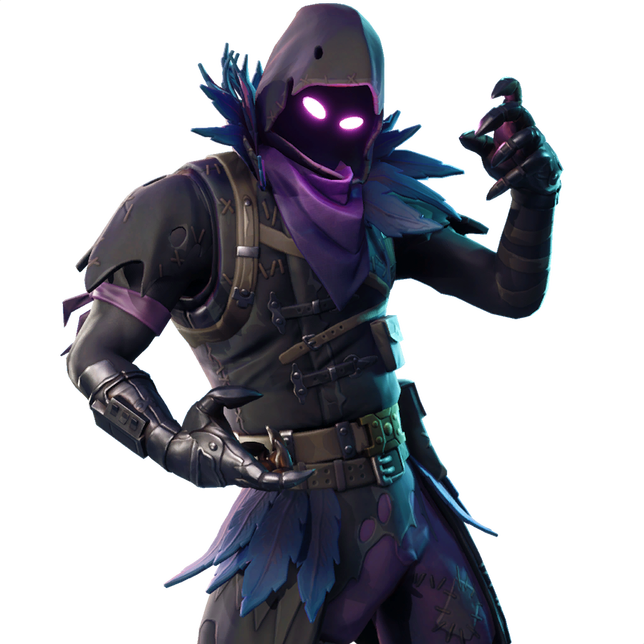 Raven skin png. What is in the