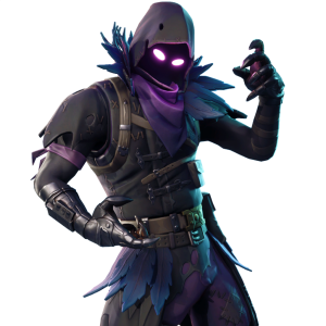 Fortnite and feathered flyer. Raven skin png black and white