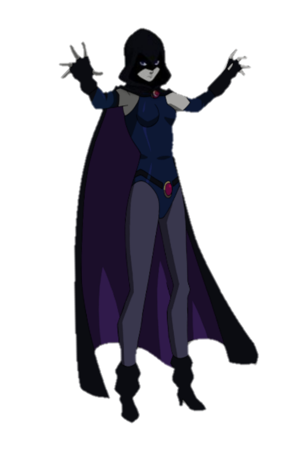 drawing raven magical