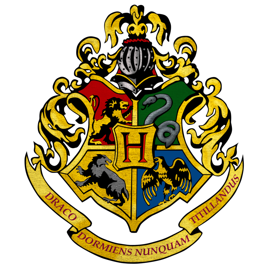Slytherin drawing ravenclaw. Hogwarts logo by shadopro