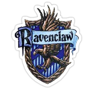 Ravenclaw book crest png. Sticker obviously stickers pinterest