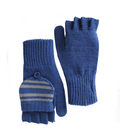 Ravenclaw book crest png. Knitted mitten capped gloves