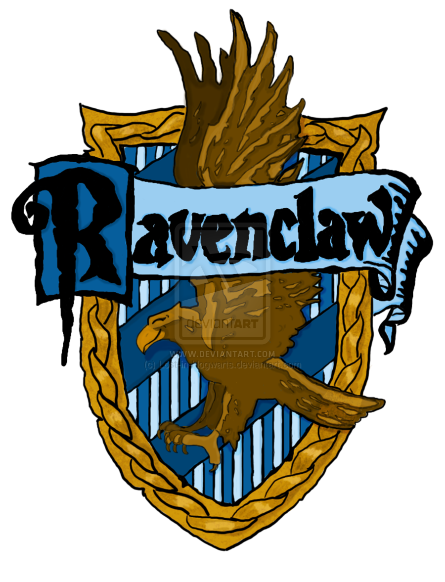 Ravenclaw book crest png. Hogwarts house crests printable