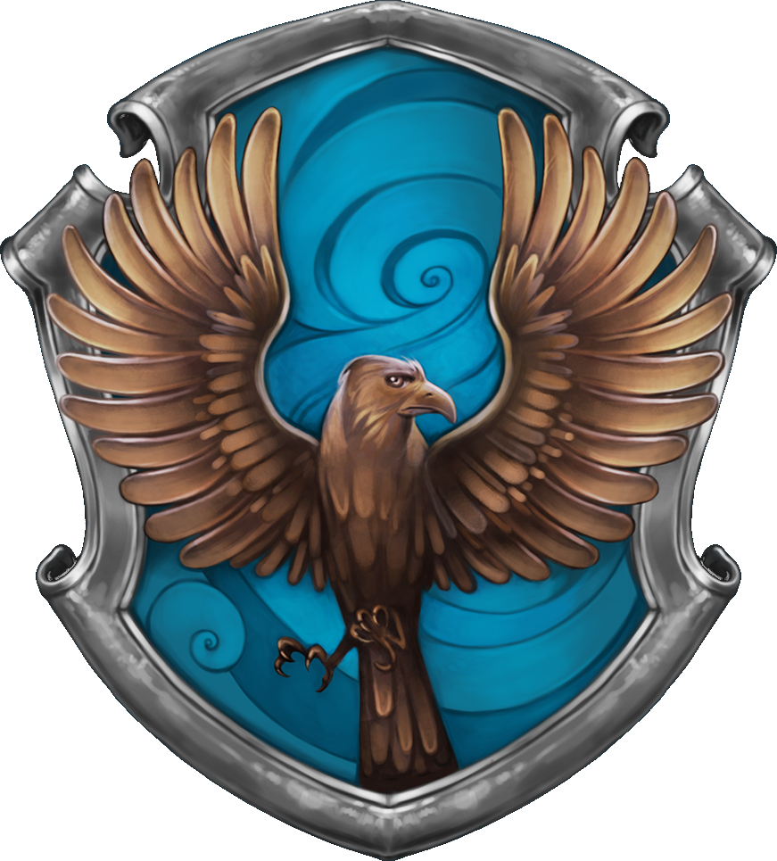 Ravenclaw book crest png. Image transparent harry potter