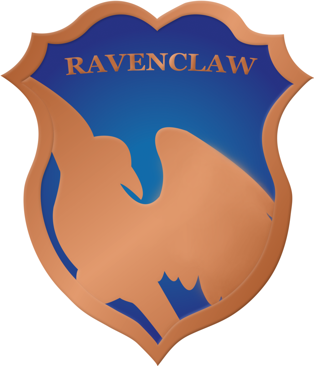 Ravenclaw vector. Download hd crest badge