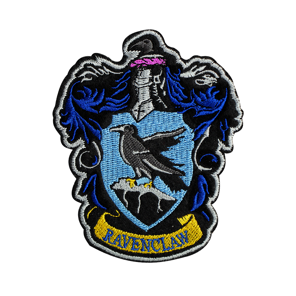Ravenclaw crest png. Harry potter patches crests