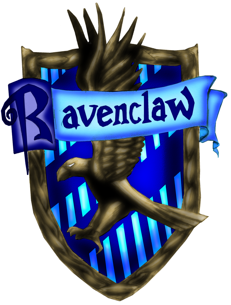 Ravenclaw vector. Crest by shinfurevindo on