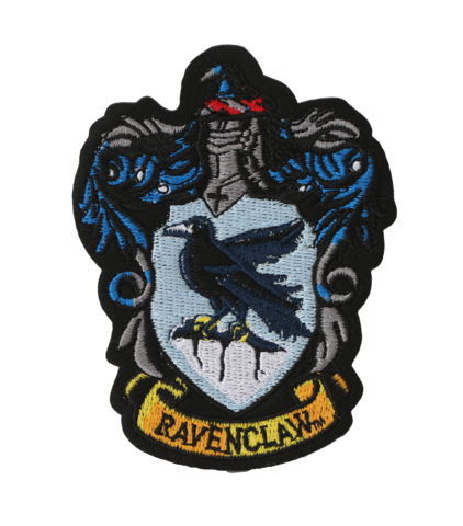 Ravenclaw crest png. Embroidered patch l harry