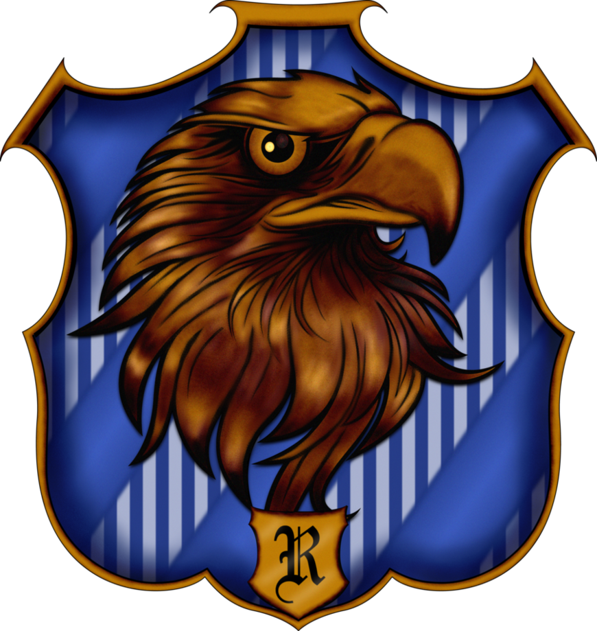 Ravenclaw crest png. By witcheewoman on deviantart