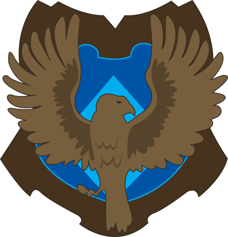 Ravenclaw vector. Crest by jendrawsit on