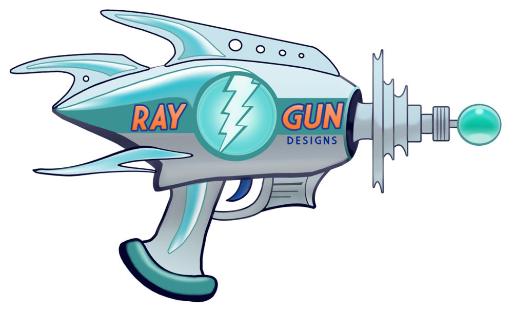 Ray gun png. Projects raygun designs