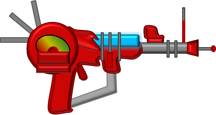 Ray gun png. Image object shows community