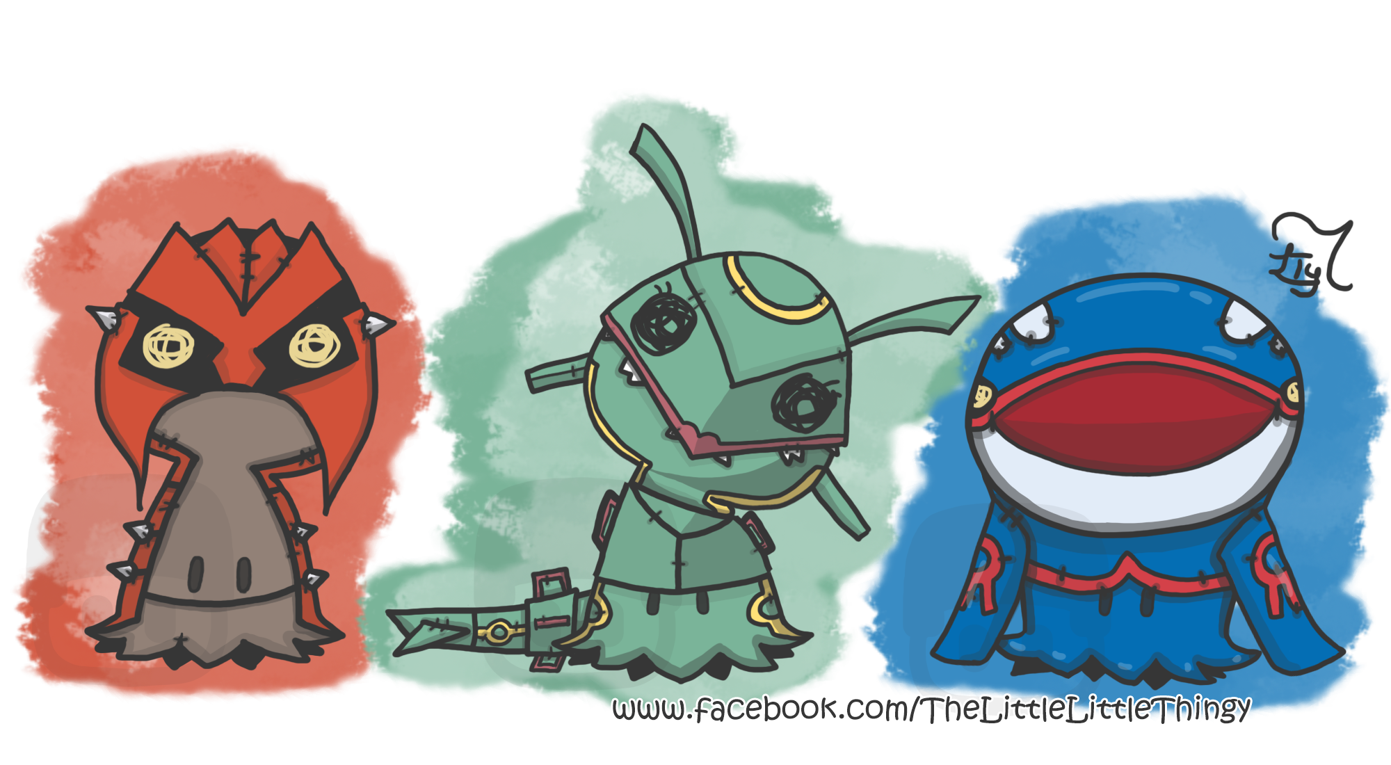 Groudon drawing kyogre. Rayquaza and mimikyu day transparent stock