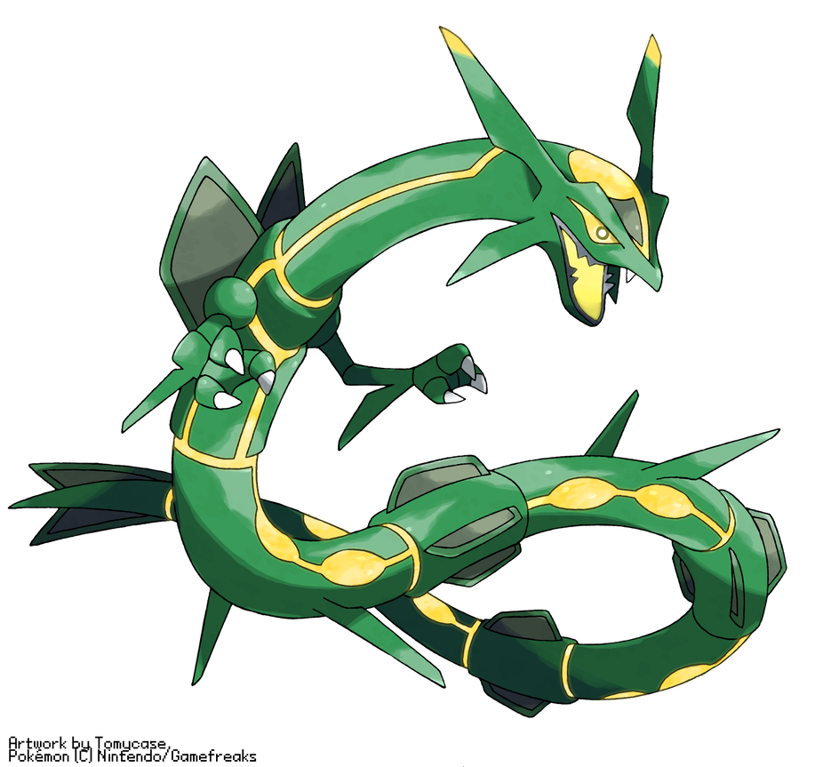 Rayquaza transparent primal reversion. By tomycase on deviantart