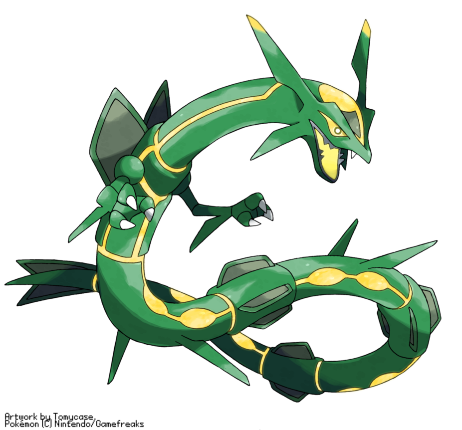 rayquaza transparent project pokemon