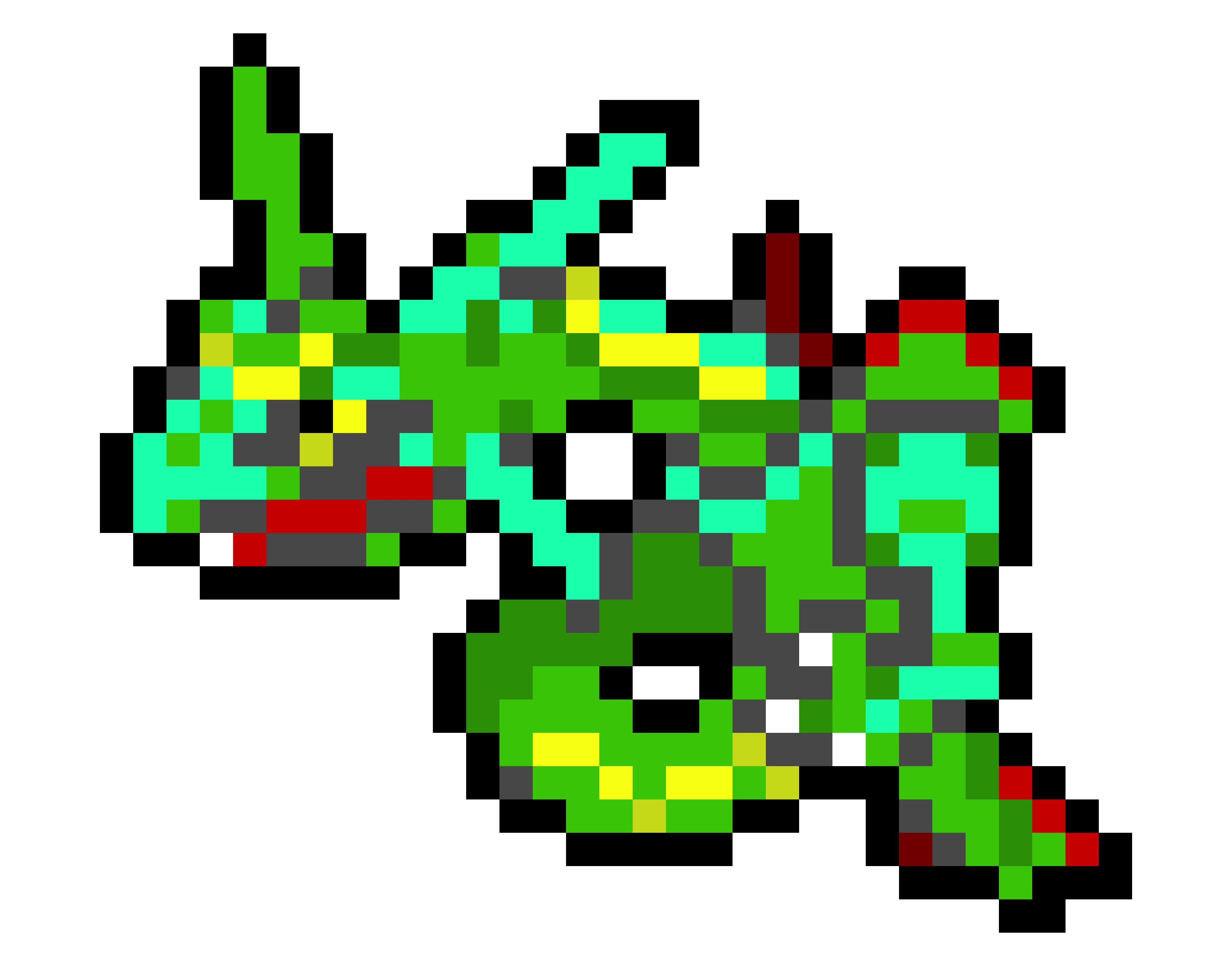 Rayquaza transparent pixelated. Pixel art related keywords