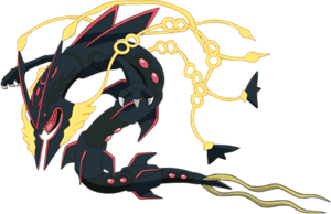 Rayquaza transparent shiny mega. To be distributed by