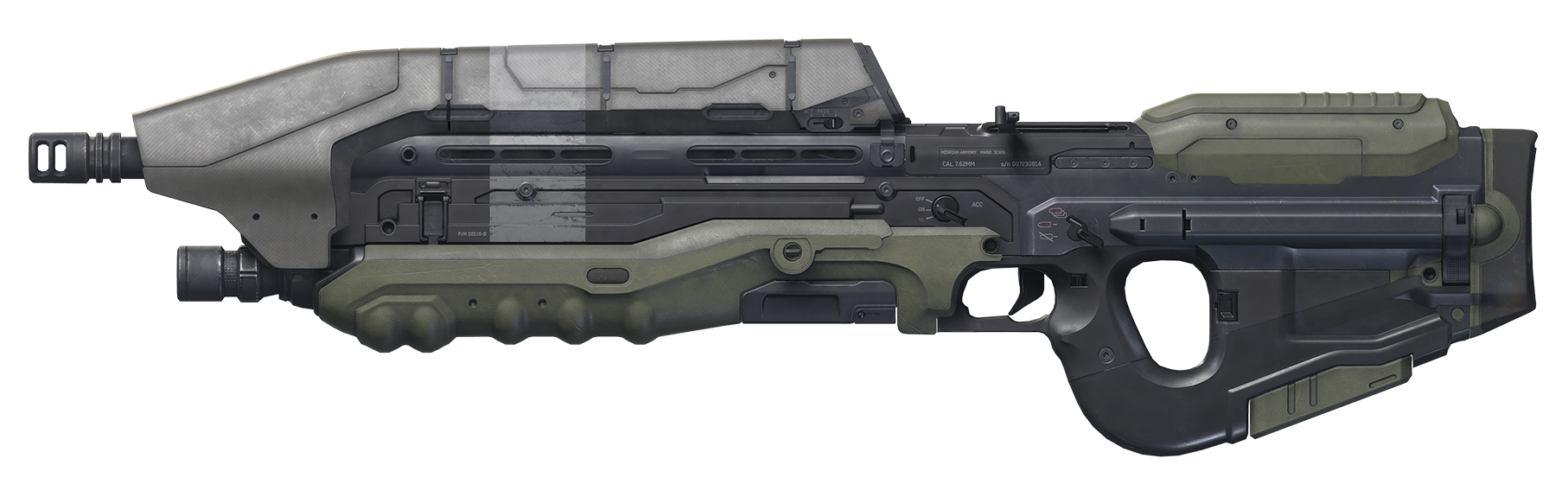 transparent guns halo