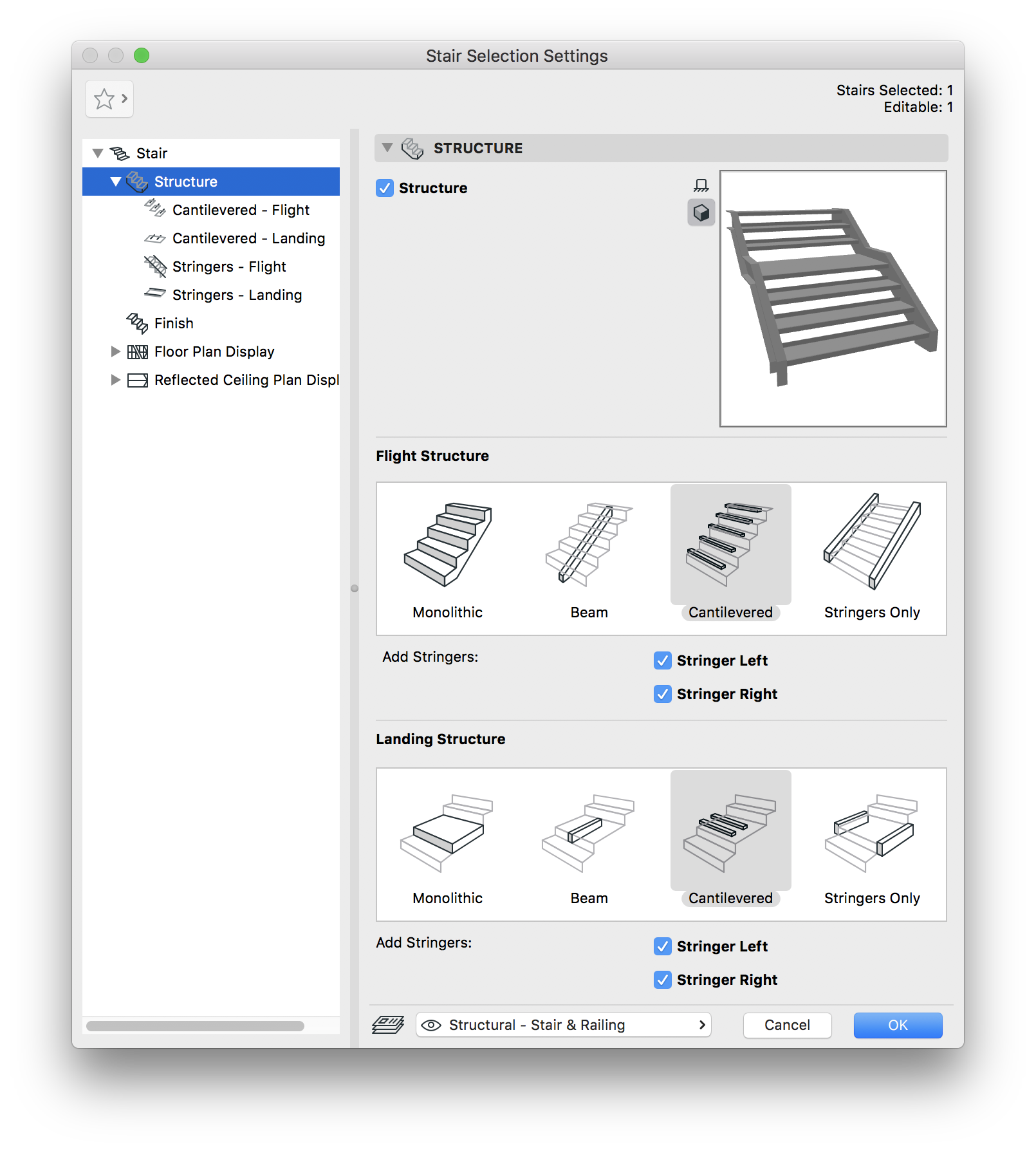 Staircase vector stair symbol. Tool basics how to