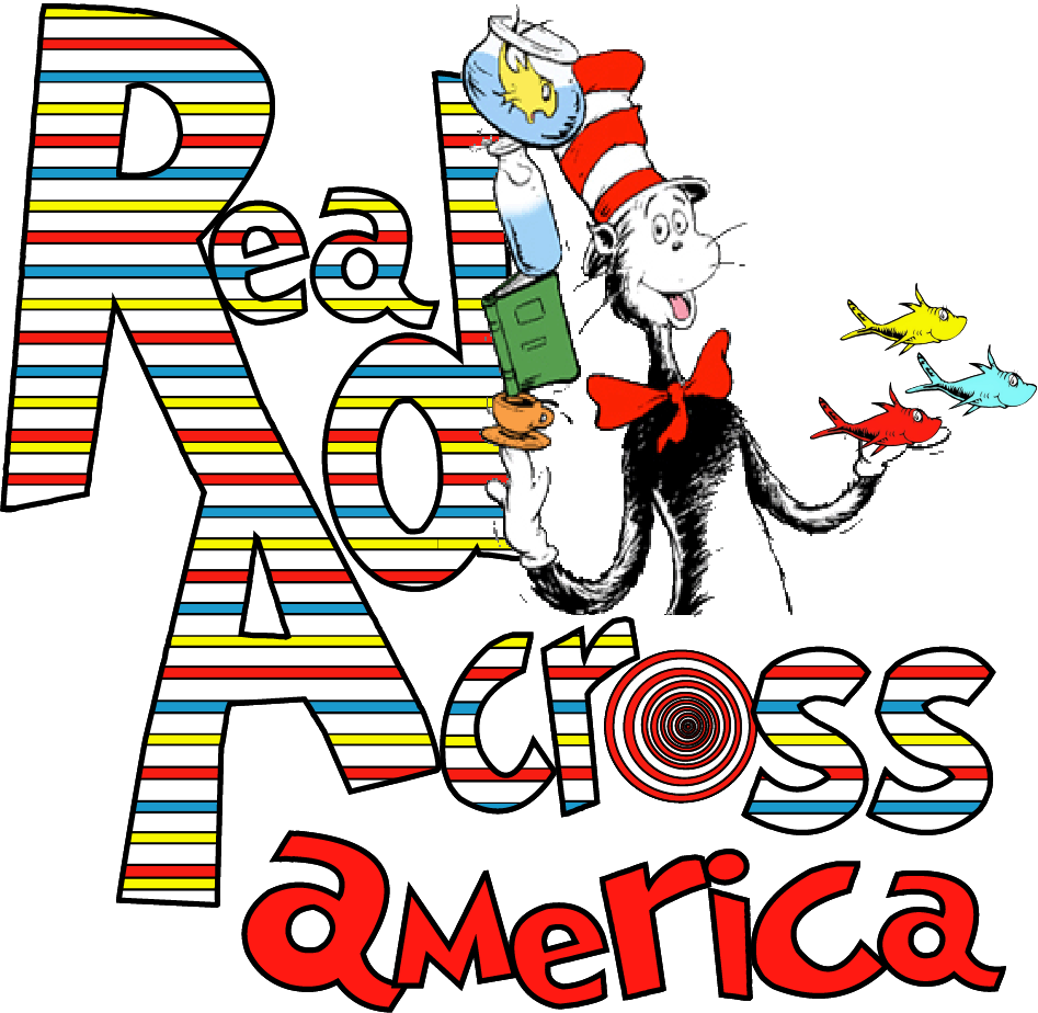 Read across america png. Dr seuss reading day