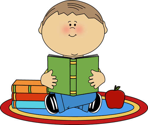 Clip art images boy. Reading clipart svg freeuse library