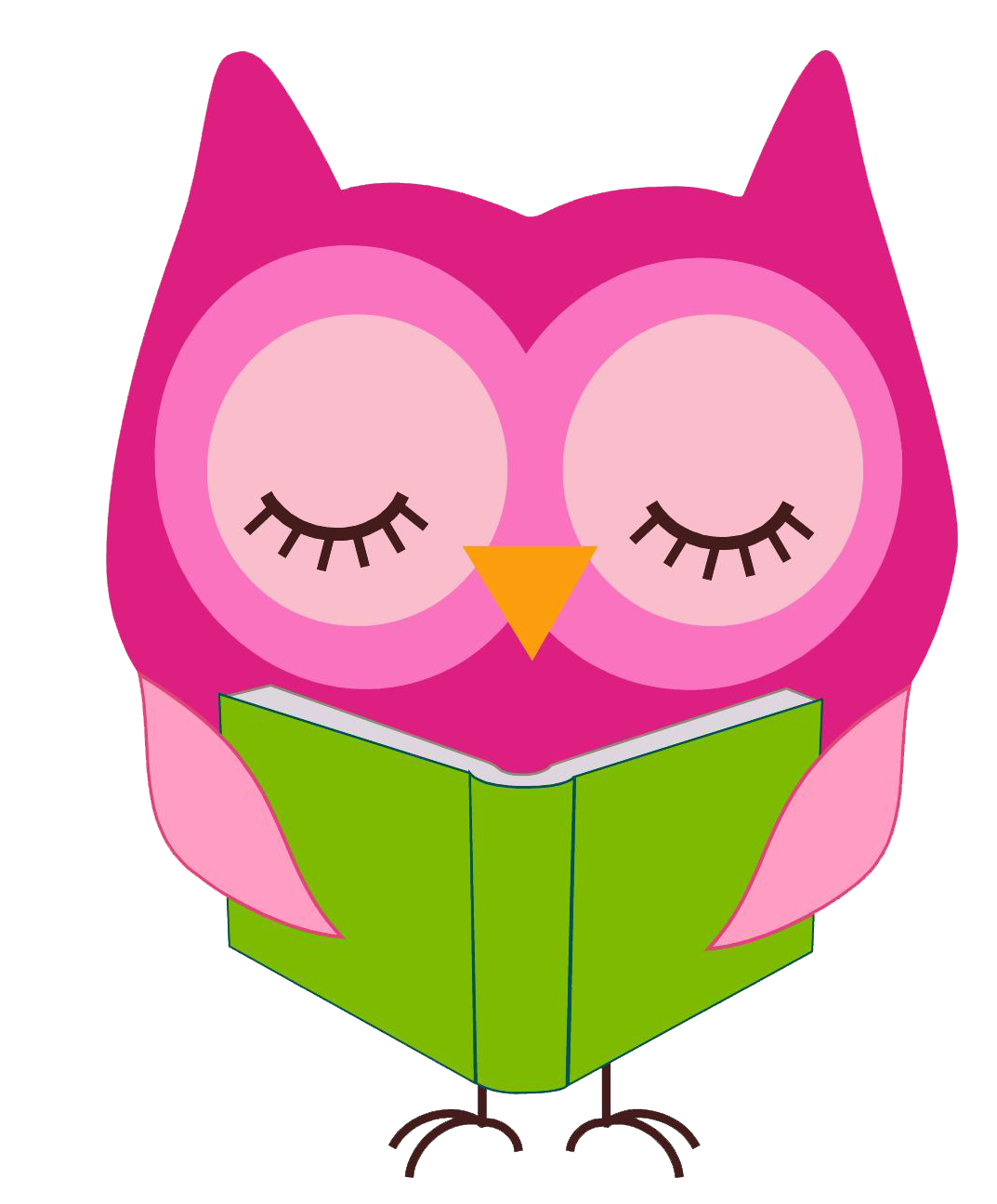 Clip art cliparts co. Reading clipart owl banner royalty free