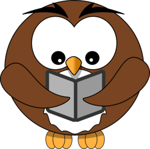 Smart clipart smart owl. Reading panda free images