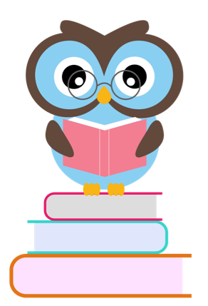 Book . Reading clipart owl banner library library