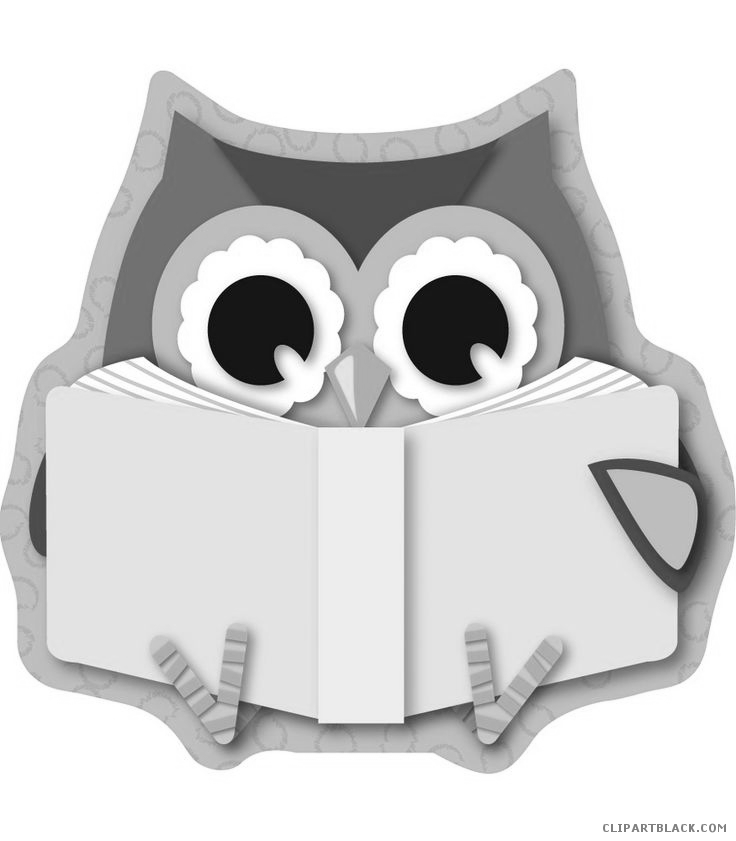 Clipartblack com animal free. Reading clipart owl jpg royalty free