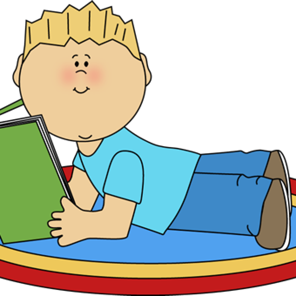 Reading vector boy. Book svg transparent